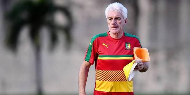 Hugo Broos et le Cameroun battus par la Guinée à Molenbeek - La DH