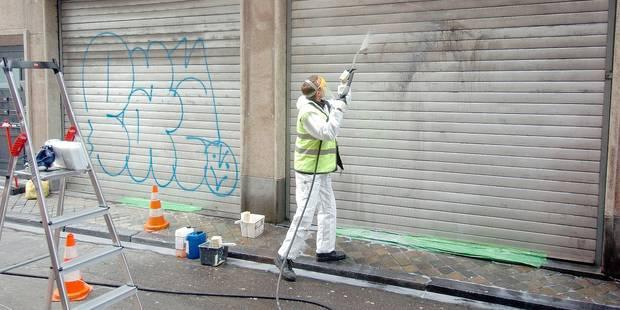 Tournai: 568 interventions pour des tags - La DH