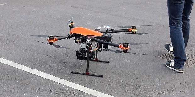 Première mission accomplie pour le drone anderlechtois - La DH