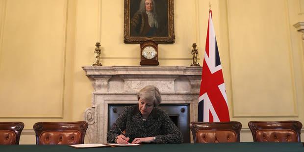 Brexit: Voici les principaux points de la lettre de Theresa May à Bruxelles - La DH