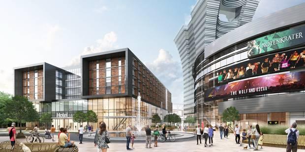 Le conseil d'Etat suspend le permis d'environnement du centre commercial Uplace - La DH