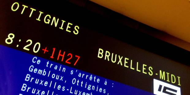 Le trafic ferroviaire rétabli entre Bruxelles-Nord et Bruxelles-Luxembourg - La DH