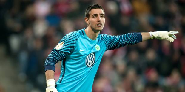 Koen Casteels confirmé gardien titulaire de Wolfsburg - La DH