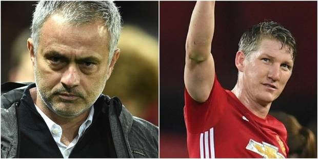 Le mea culpa de Mourinho sur Schweinsteiger - La DH
