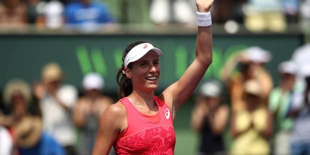 Konta remporte le tournoi de Miami en battant Wozniacki en finale - La DH