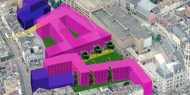 Verviers : un centre-ville complètement remanié - La DH