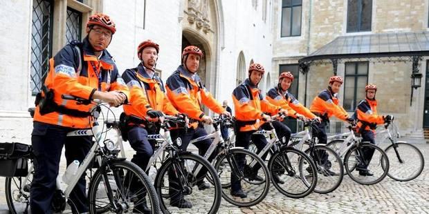 Bientôt des policiers à vélo dans les rues d'Ixelles - La DH