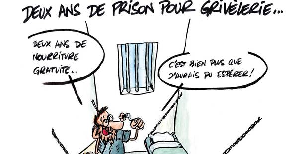 OLLN: Bernard affirme être fort bien en prison - La DH