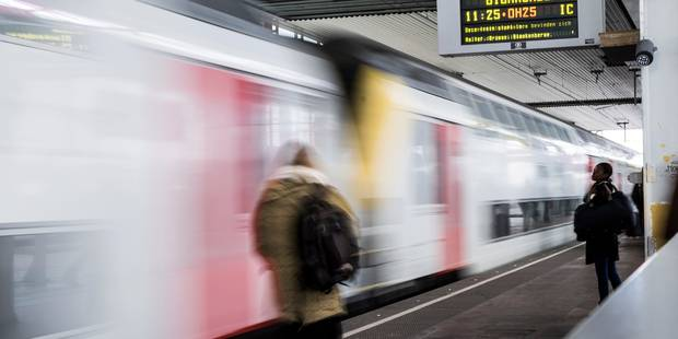 La ponctualité des trains en baisse en février - La DH