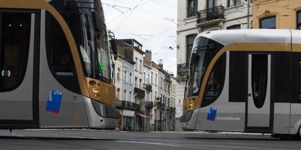 Bruxelles : la circulation du tram 82 rétablie - La DH