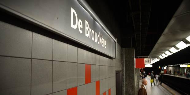 Homme poignardé près de la station De Brouckère: Un jeune de 17 ans placé en IPPJ - La DH