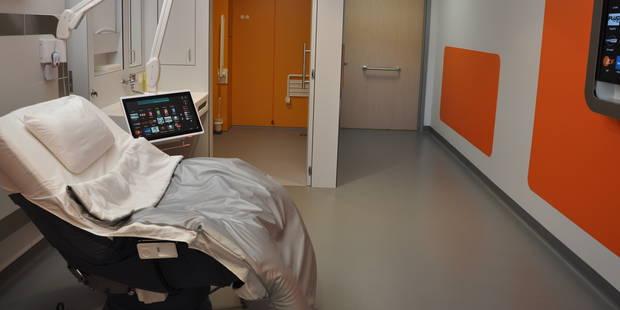 GHdC : une chambre d'hôpital nouvelle génération - La DH