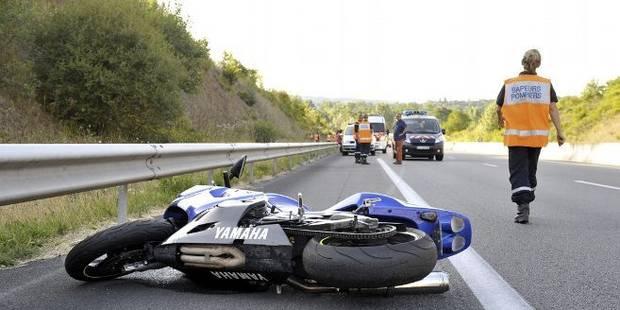 Un motard décède à Villers-le-Bouillet - La DH