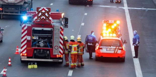 Grave accident entre 5 véhicules sur le ring intérieur de Bruxelles: deux blessés dont un grave - La DH