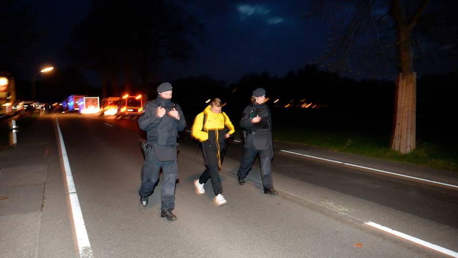 Une mystérieuse lettre retrouvée sur les lieux — Explosion à Dortmund