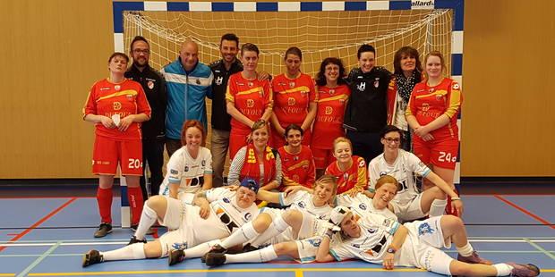Une équipe féminine pour le RFC Tournai homeless - La DH