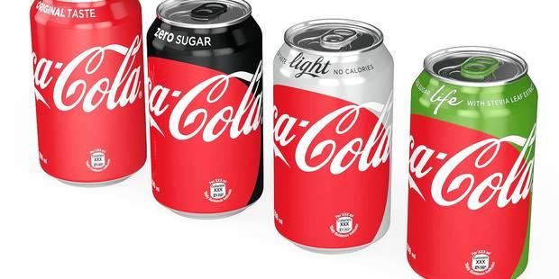 Le Belge consomme de plus en plus son cola sans sucre - La DH