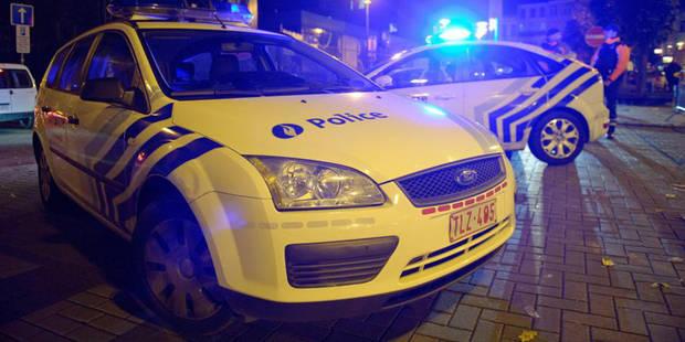 Course-poursuite derrière une voiture volée à Charleroi - La DH