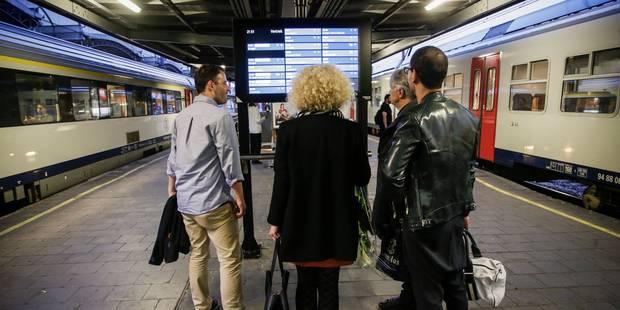 Jonction Nord-Midi fermée le week-end du 1er mai: déviations et trains navettes prévus - La DH