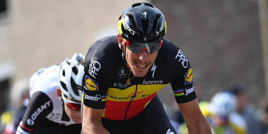 "Gilbert sur l'Amstel Gold Race: ""Ce sera un sprint massif"""