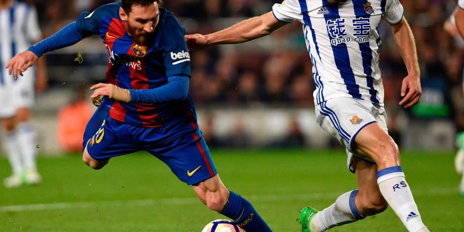 Mascherano absent contre la Real Sociedad — Liga- FC Barcelone