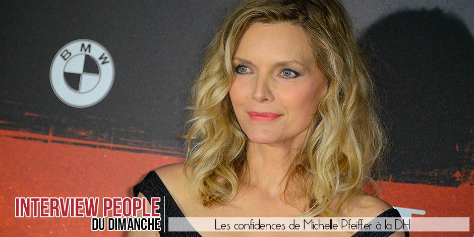 """Michelle Pfeiffer: """"J'ai fait ce métier parce que je ne savais pas quoi faire d'autre?"""" - La DH"""