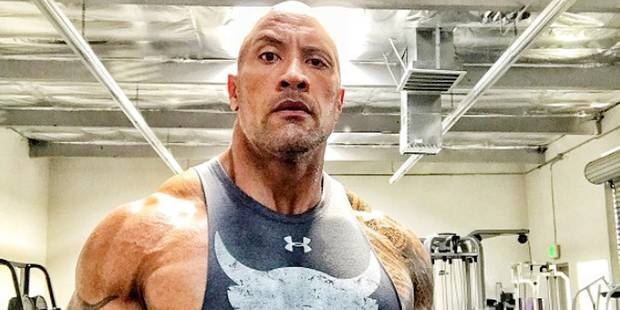 Pour Dwayne Johnson, le muscle ne fait pas tout ! - La DH