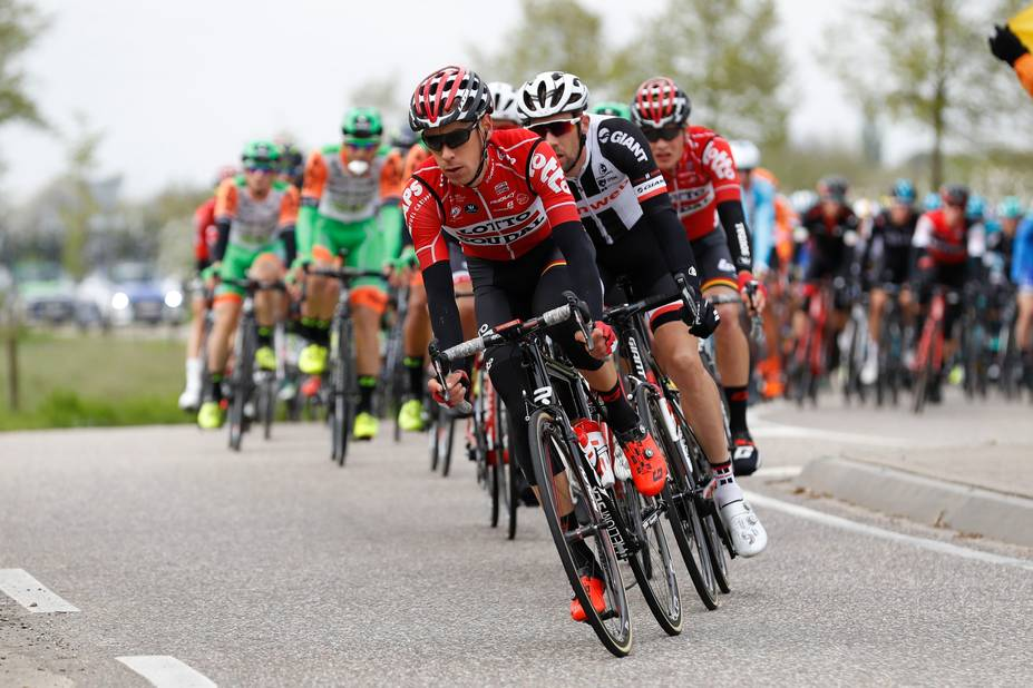 Philippe Gilbert (Quick-Step) remporte l'Amstel Gold Race devant Michal Kwiatkowski (Sky)