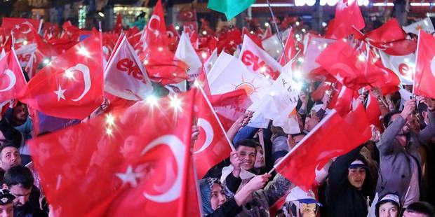 Référendum en Turquie: voici les résultats du vote en Belgique - La DH