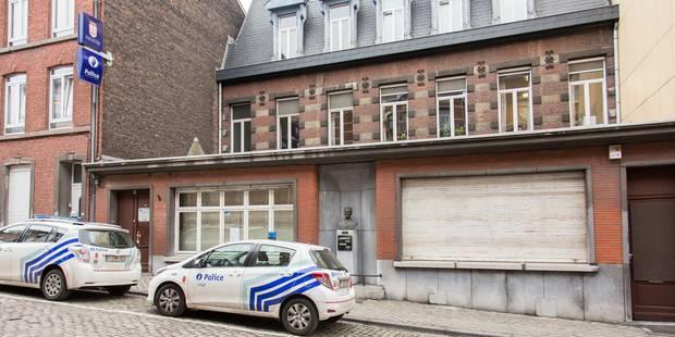 Liège : le commissariat de police de la rue Hullos détruit - La DH