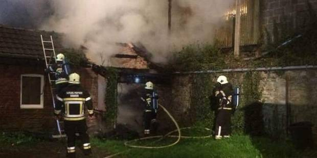 Important feu de grange à Hamoir - La DH
