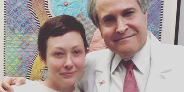 Shannen Doherty : le traitement terminé, elle fait une belle déclaration d'amour à son médecin - La DH