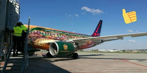 Anderlecht voyage dans l'avion de Tomorrowland! (PHOTO) - La DH