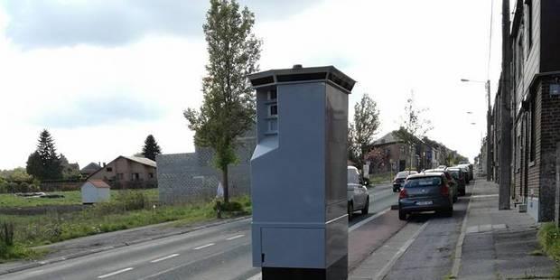 Chapelle-lez-Herlaimont: Un nouveau radar à la rue de Trazegnies - La DH