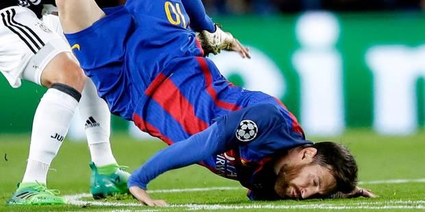 Les internautes détournent la chute de Lionel Messi - La DH