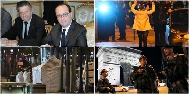 Ce que l'on sait sur l'attaque revendiquée par l'EI ayant conduit à la mort d'un policier sur les Champs-Elysées - La DH