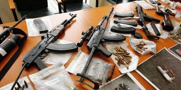 30 armes saisies par jour en Belgique ! - La DH