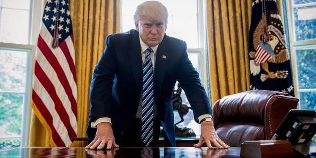 Trump s'intéresse de (très) près à l'élection présidentielle française - La DH