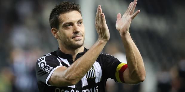 Javier Martos prolonge son contrat de 3 ans avec Charleroi - La DH