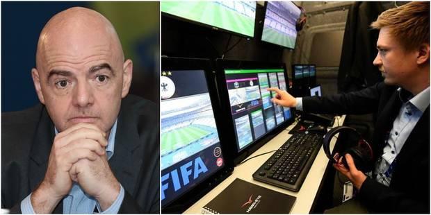 """Infantino, président de la FIFA: """"L'arbitrage vidéo sera utilisé au Mondial 2018"""" - La DH"""