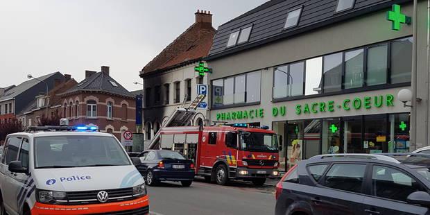 Tournai: Deux ouvriers perdent la vie dans un incendie - La DH