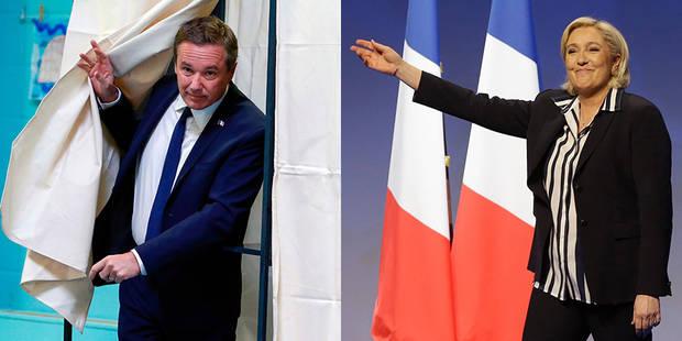 Nicolas Dupont-Aignan appelle à voter Marine Le Pen (VIDEO) - La DH