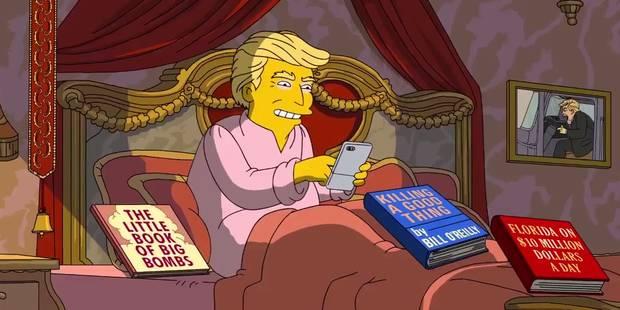 Les 100 premiers jours de Trump vus par les... Simpsons (VIDEO) - La DH