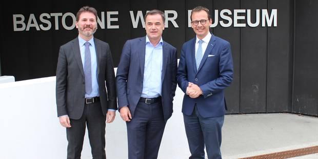 Wouter Beke en visite au Bastogne War Museum (VIDEO) - La DH