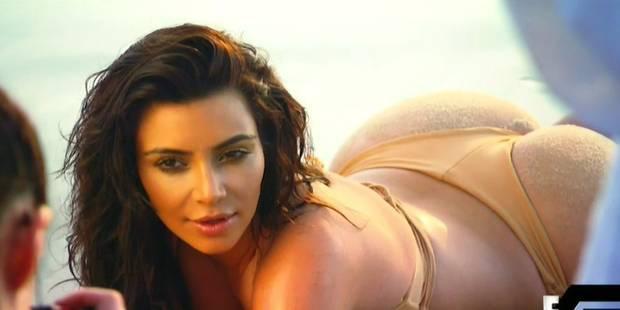 Kim Kardashian blâmée pour une histoire de fesses - La DH