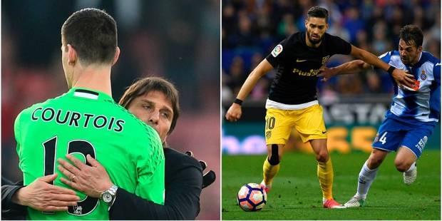Les Belges à l'étranger: Hazard et Courtois font un nouveau pas vers le titre, Carrasco de retour à l'entraînement - La ...