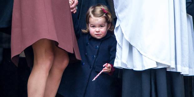 Un cliché inédit (et craquant) de la princesse Charlotte pour ses deux ans - La DH