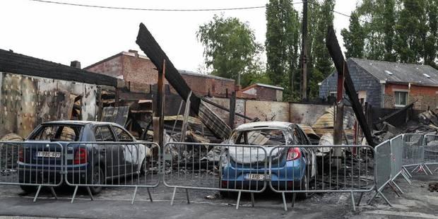 Frameries: la Boite à Déco a été détruite par les flammes - La DH