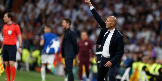 """Zidane: """"Je vis quelque chose de fou"""" - La DH"""