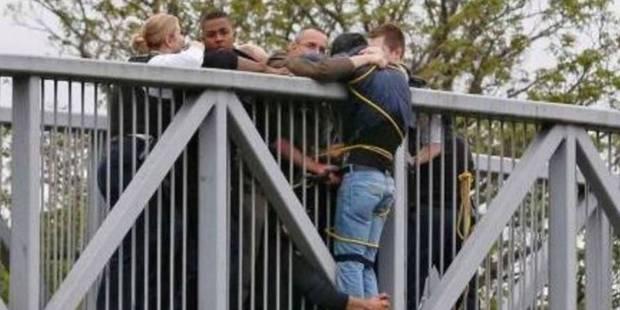 Un homme au bord du suicide secouru par des passants - La DH